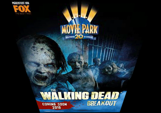 """The Walking Dead Breakout"" im Movie Park Germany"