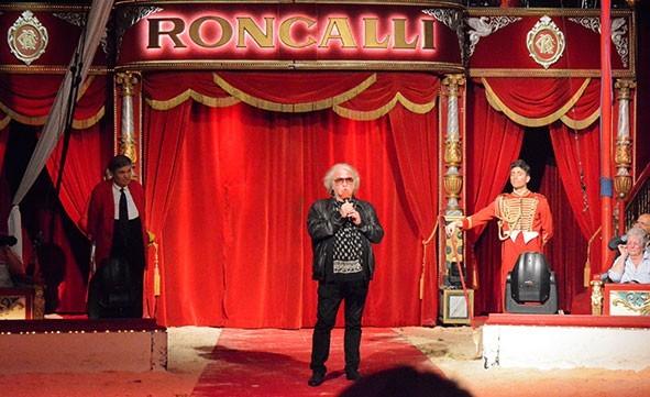 Premiere bei Zirkus Roncalli