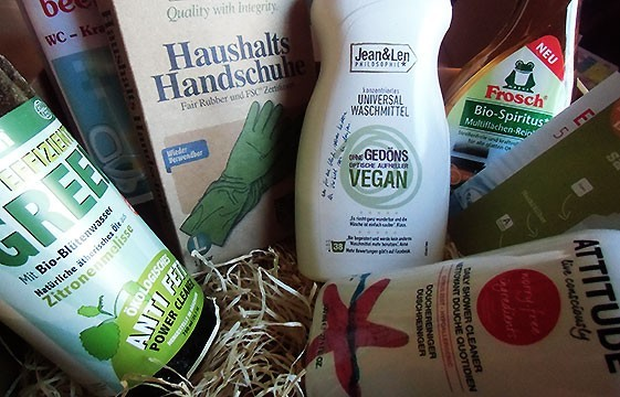 "Vegane ""Meister Proper""-Box aus dem Haus Verganbox.de!"