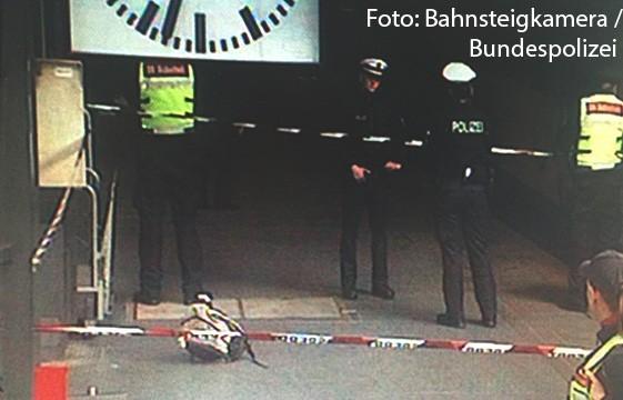 """Hamburger Hauptbahnhof- """"Herrenloser"""" Rucksack sorgte für umfangreiche Einsatzmaßnahmen der Bundespolizei"""