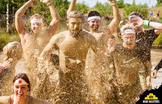 Mud Masters am 5. und 6. Mai am Flughafen Weeze – ein Wochenende im Matsch für Groß und Klein!