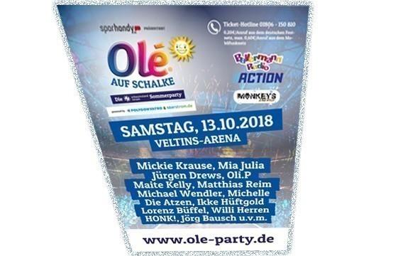 2018 geht die Olé Tour in die elfte Runde
