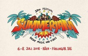 Summerjam 2018 @ Fühlinger See | Köln | Nordrhein-Westfalen | Deutschland