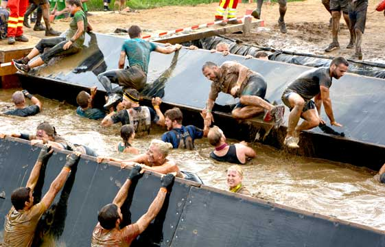 Der Tough Mudder Arnsberg 2018 – 18 km FULL Power