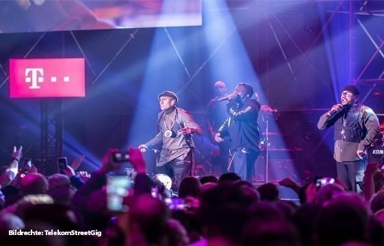 """Louder!"" – der Telekom Street Gig mit den Black Eyed Peas in Köln"