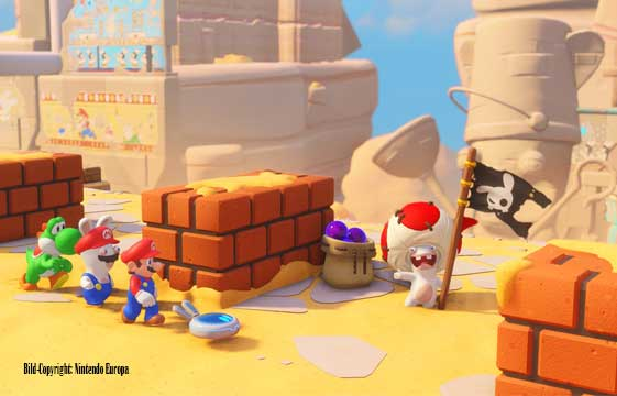 Niveau-Klatsch zockt: Mario + Rabbids- Kingdom Battle