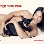 "Jorge González unterstützt PETA bei ""So trägt man Pelz"""