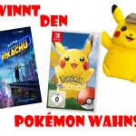 Gewinnt ein großes Pokémon Paket!