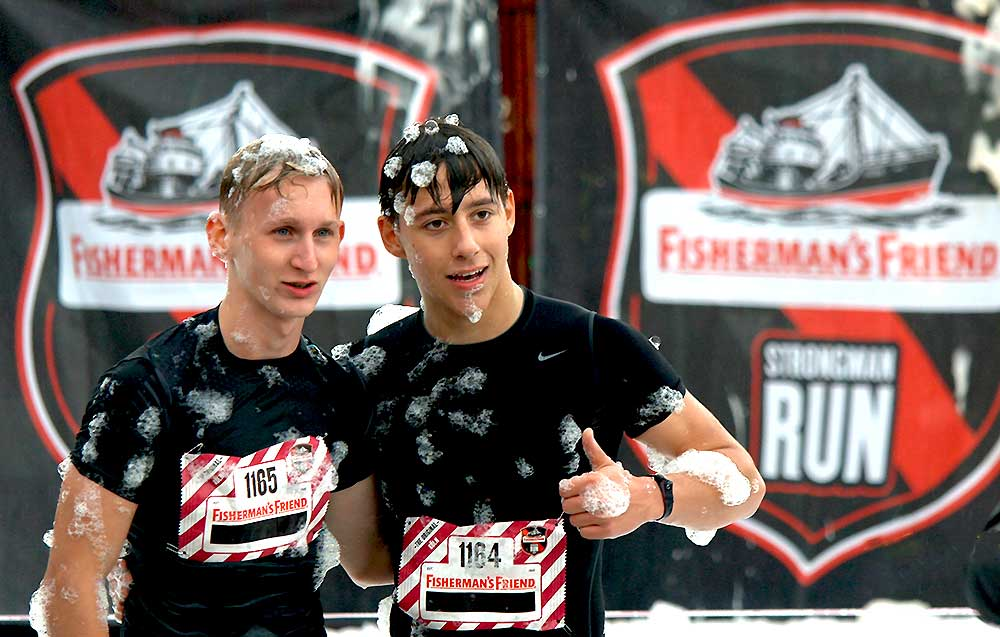Der Fishermans Friend Strongman Run 2019 am Fühlinger See – #runjeck