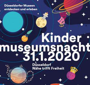 Am 31. Januar findet die erste Kindermuseumsnacht in Düsseldorf statt © Landeshauptstadt Düsseldorf